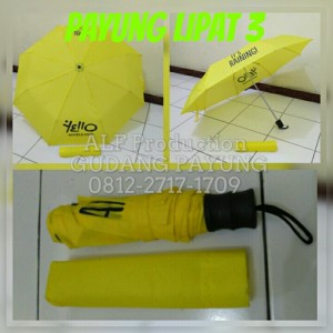 Payung Lipat 3 + Cover